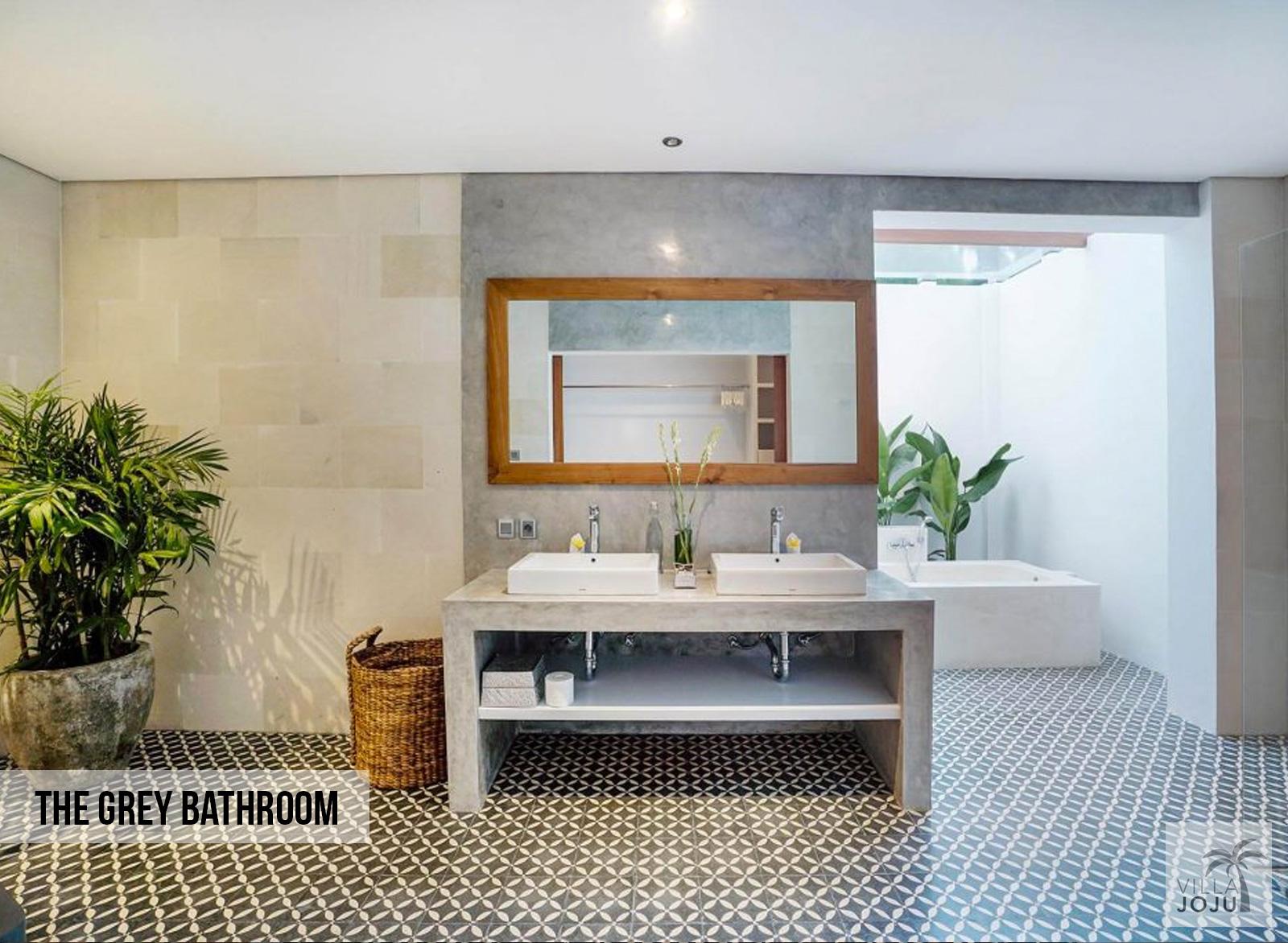 The Grey Bathroom